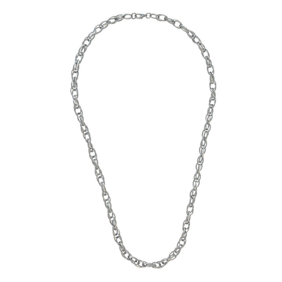 Sarah Silver Rope Chain for Men
