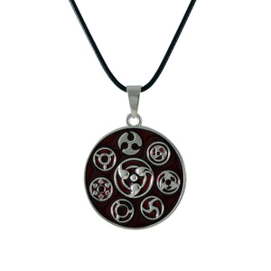 Sarah Blade Signs Pendant Necklace for Men - Red