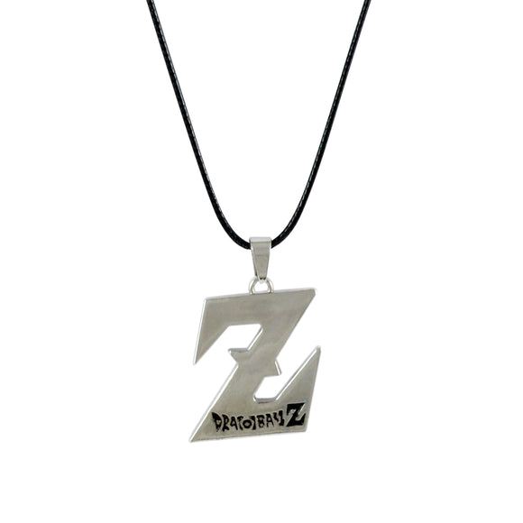 Sarah Dragon Ball Z Pendant Necklace for Men - Silver