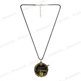 Sarah Tank Pendant Necklace for Men - Gold