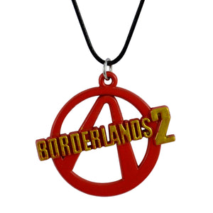 Sarah Borderlands2 Pendant Necklace for Men - Red
