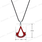 Sarah Assassins Creed Pendant Necklace for Men - Red