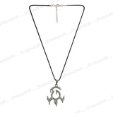 Sarah Antic Shape Pendant Necklace for Men - Silver
