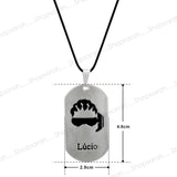 Sarah Lucio Shape Pendant Necklace for Men - Silver