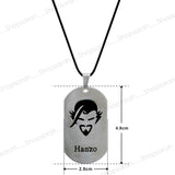 Sarah Hanjo Head Pendant Necklace for Men - Silver