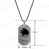 Sarah Tracer Face  Pendant Necklace for Men - Silver