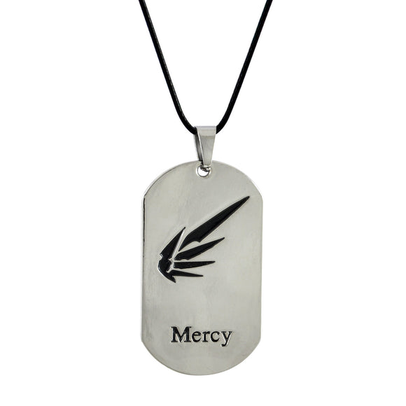Sarah Mercy Pendant Necklace for Men - Silver