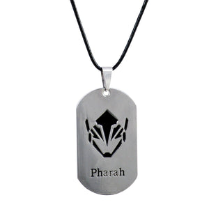 Sarah Pharah Pendant Necklace for Men - Silver
