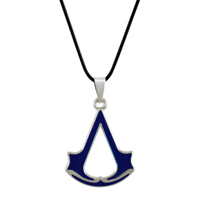 Sarah Assassin's Creed Pendant Necklace for Men - Blue