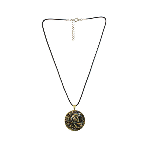 Sarah Skull with Crossbones Pendant Necklace for Men