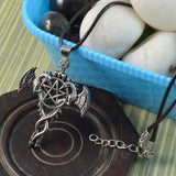 Sarah Fashion Game of Thrones Double Dragon Pendant Necklace for Men