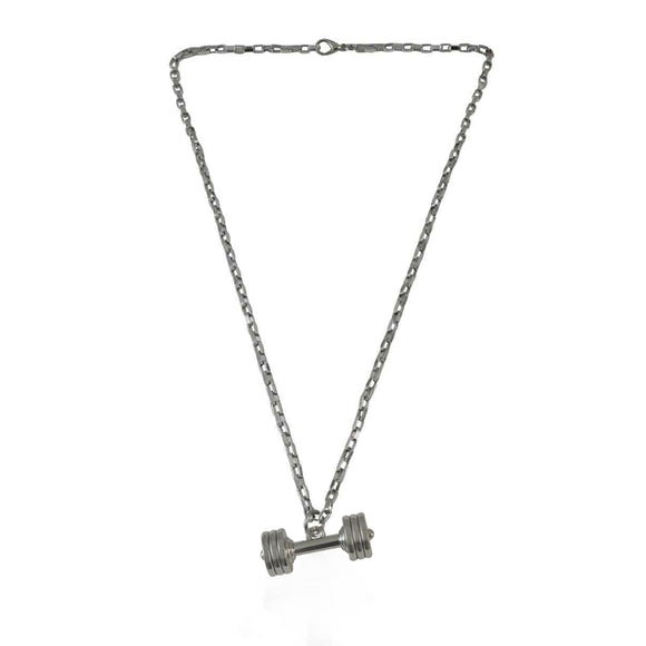 Sarah Stylish Dumbbell Pendant Necklace for Girls and Boys