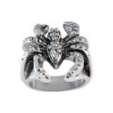 Sarah Spider Finger Ring for Men - Silver