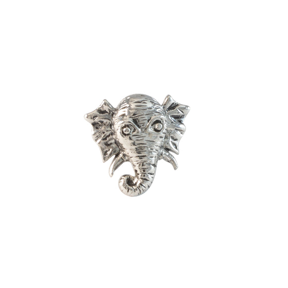 Sarah Elephant Head Shaped Finger Ring for Men