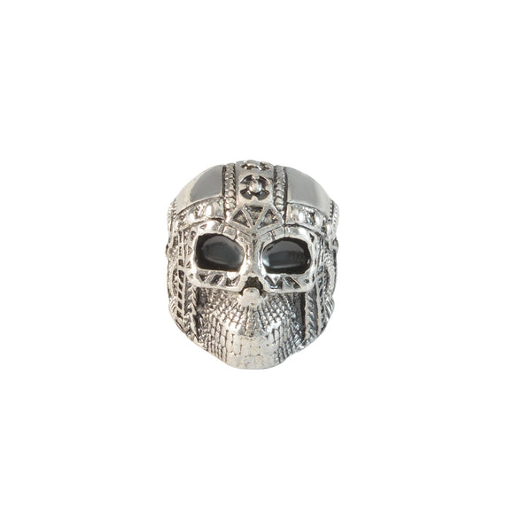 Sarah Skull with Armour Finger Ring for Men