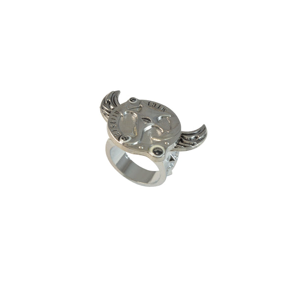 Sarah Livraison Gratuite Japon Symbol Rotatable Finger Ring for Men