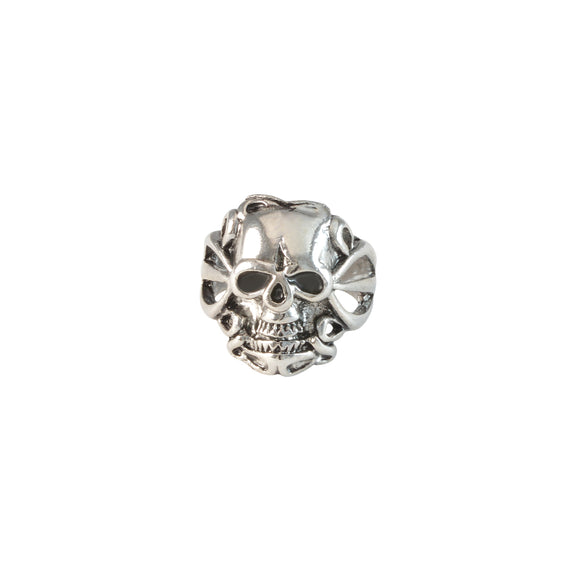 Sarah Punk Skull with Hollow Sides Finger Ring for Men