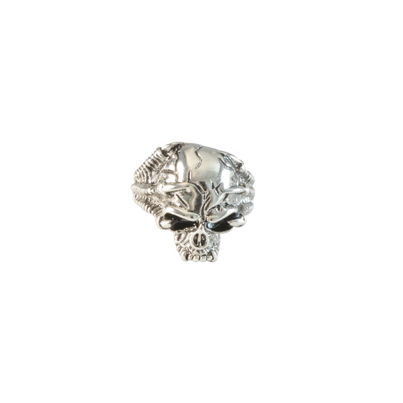 Sarah Punk Skull Finger Ring for Men