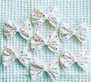 Neon Small Spot Bow