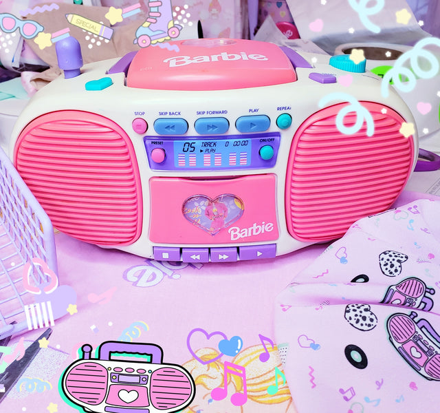 That Barbie Boombox!