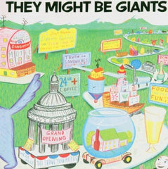they might be giants self titled album cover