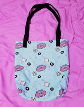 Load image into Gallery viewer, 90's Barbie Boombox Allover Print Tote Bag
