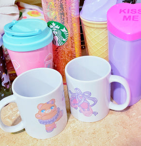 collection of cute cups and mugs