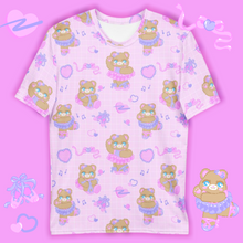 Load image into Gallery viewer, pink ballerina bear t-shirt