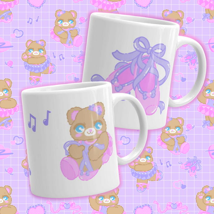 ballerina bear mugs