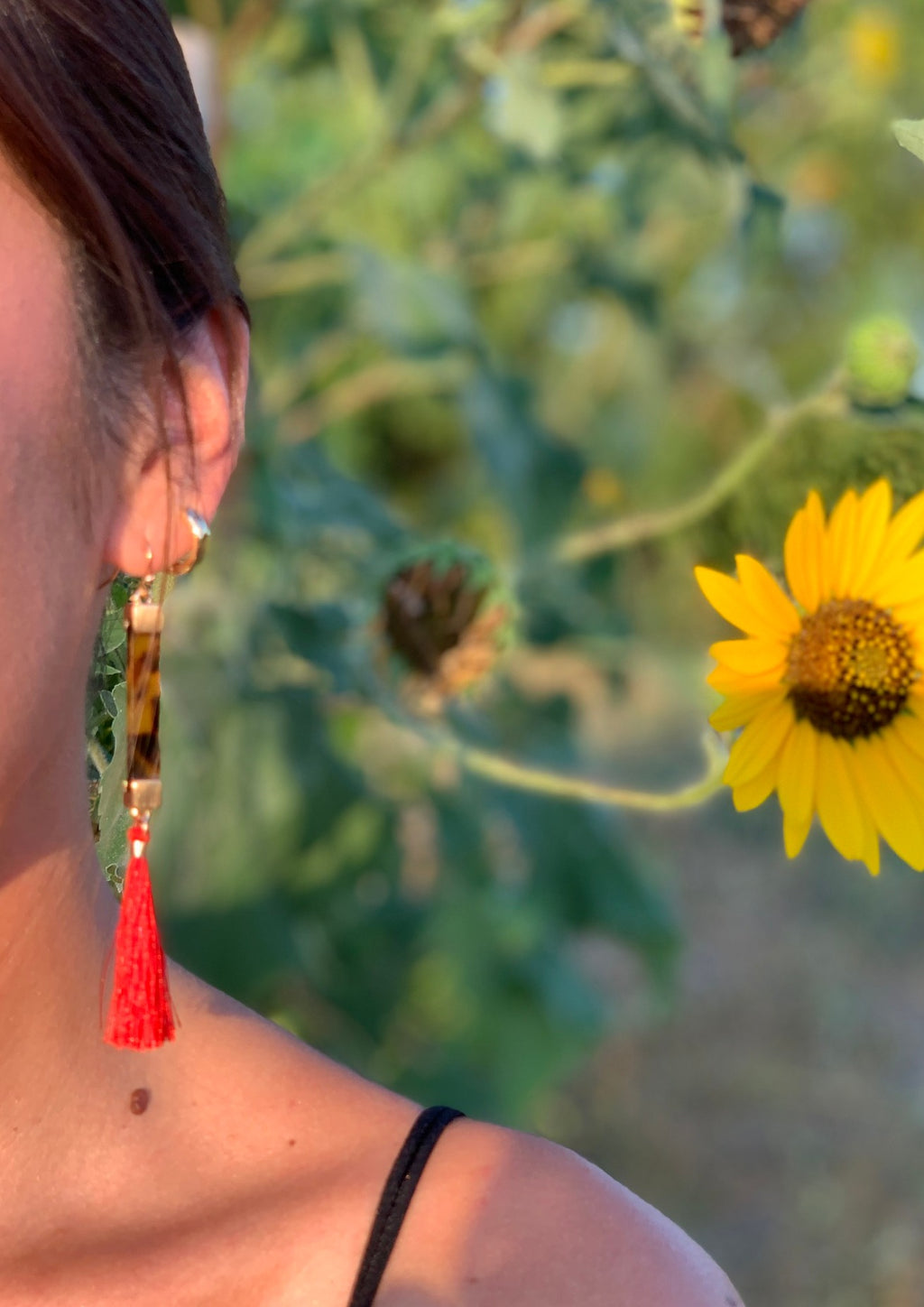 Rosetta Tortoise Shell Earrings