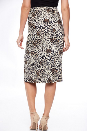 Call Me Posh Cheetah Skirt