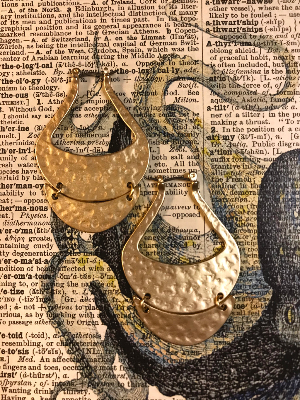 Siren Gold Earrings