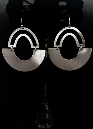The Tatum Silver Earrings