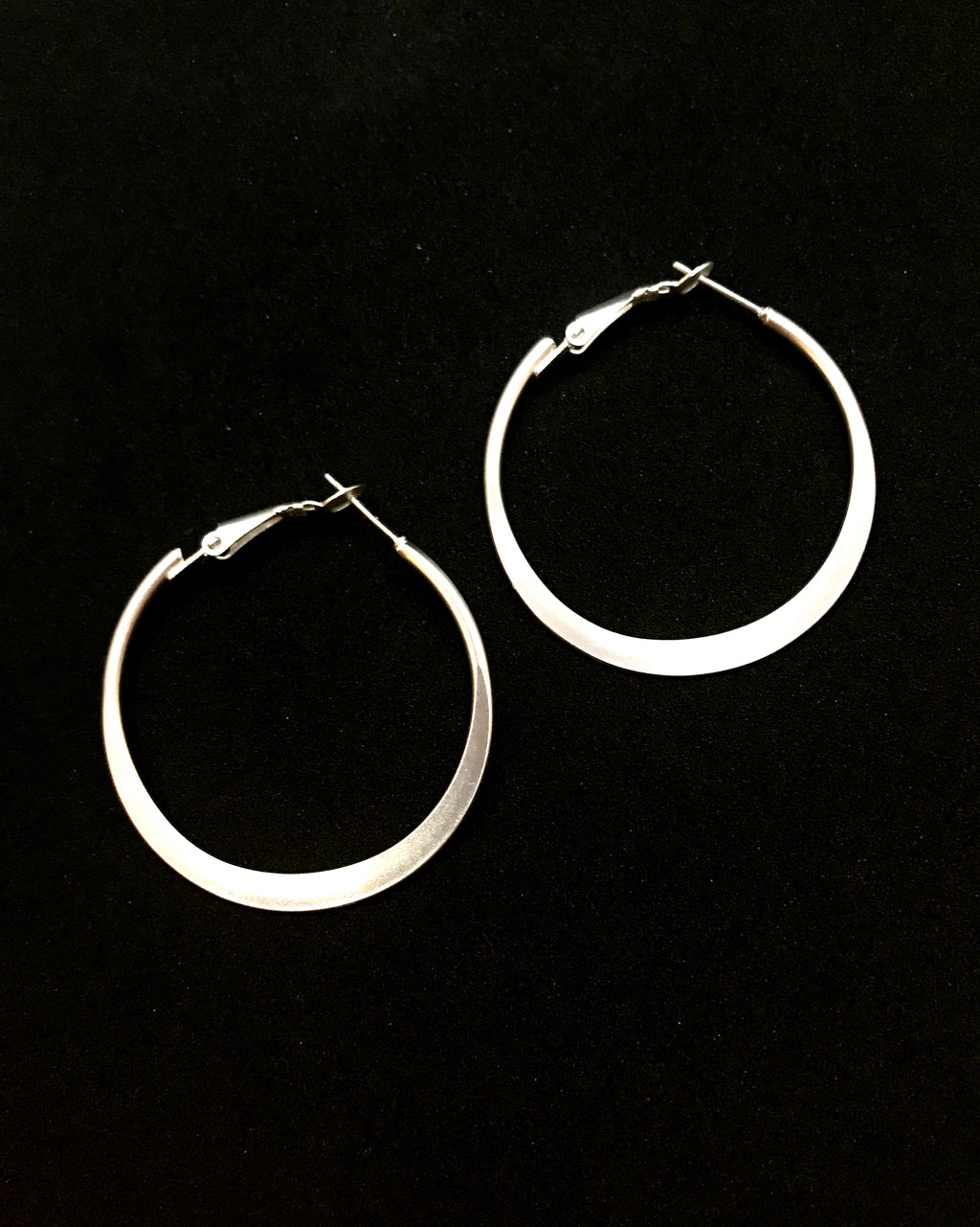 The Tiffany Silver Hoops