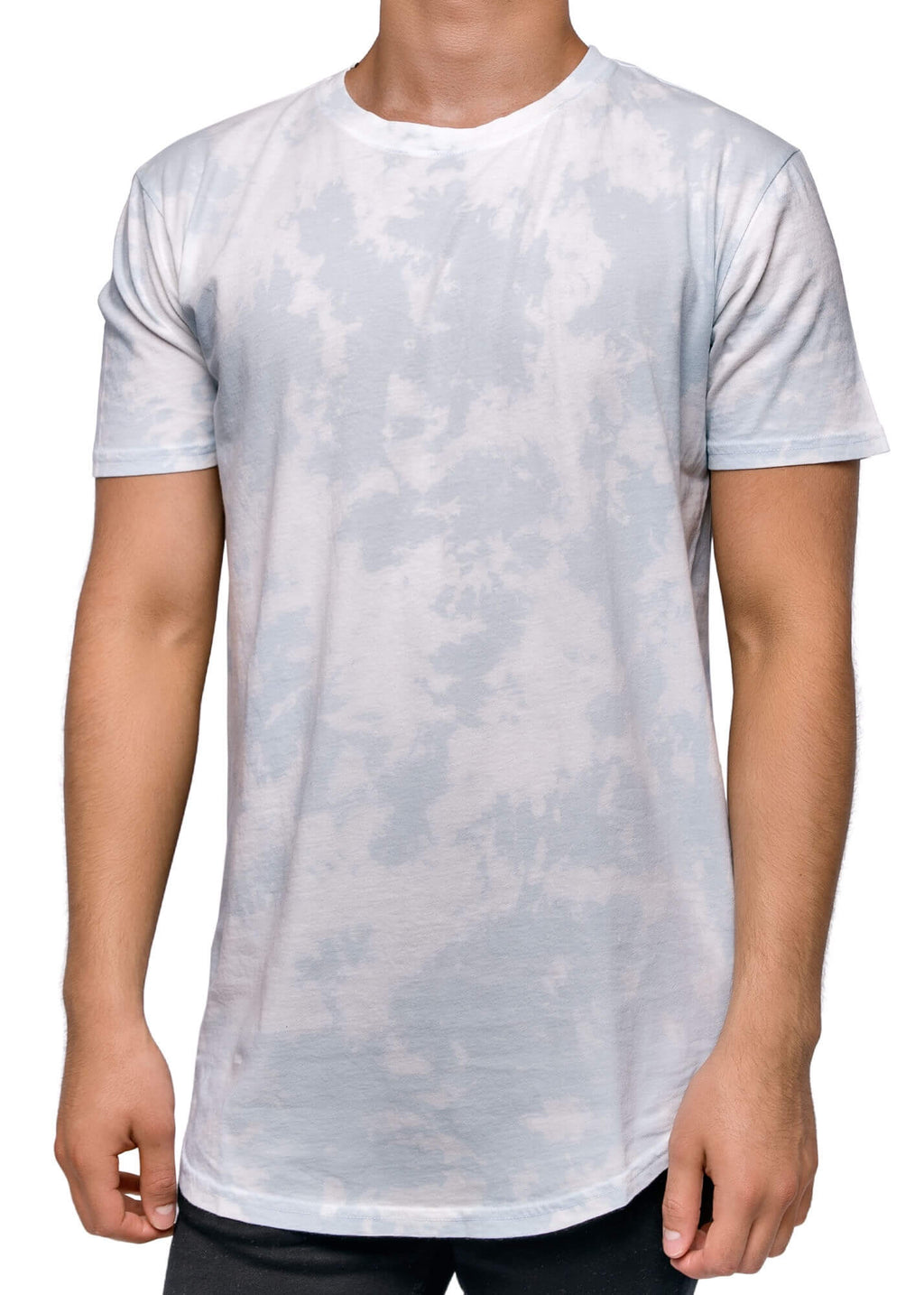 Head in the Clouds Scallop Hem Shirt