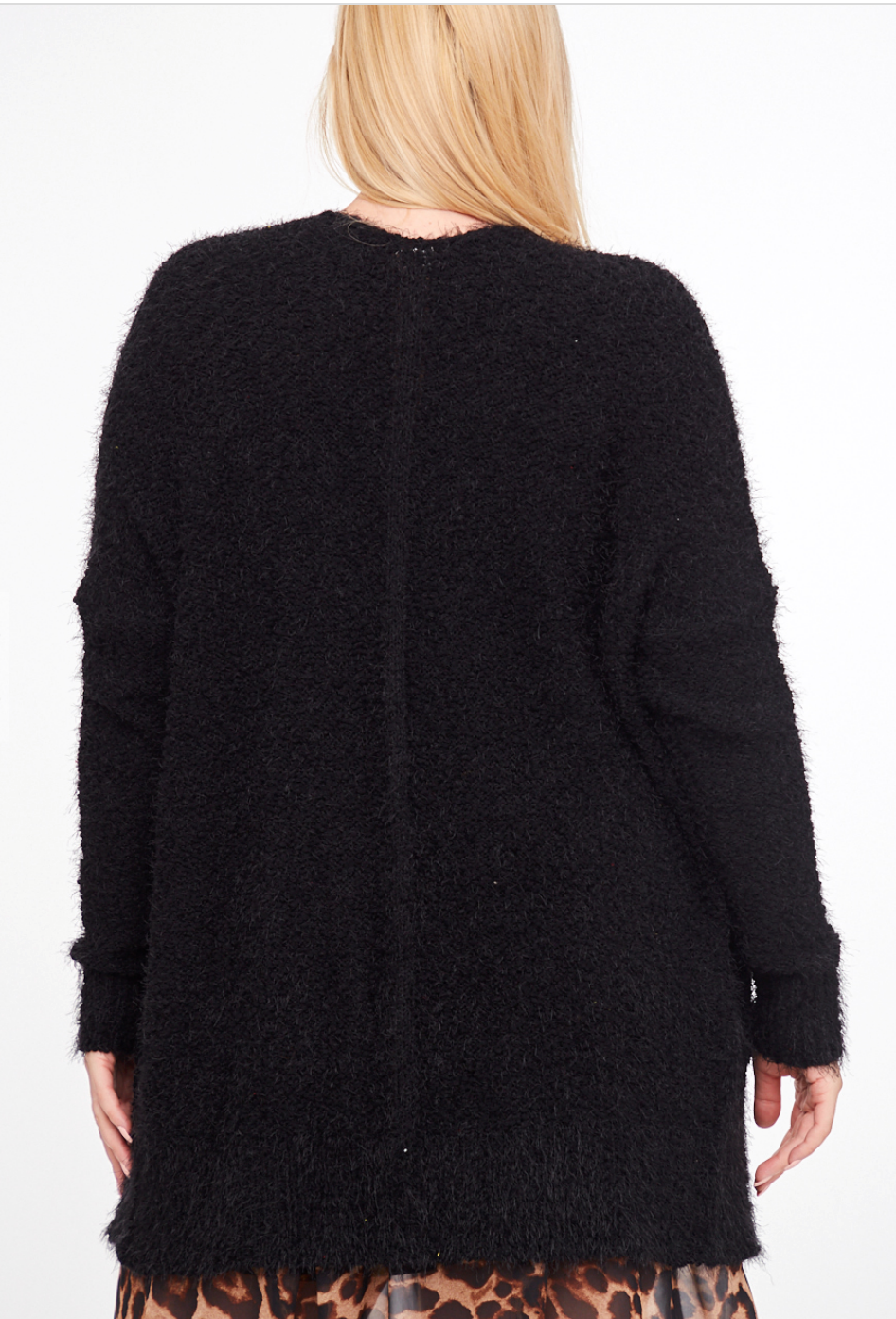 Back in Black Relaxed Fit Sweater