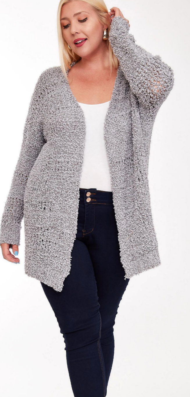 Relaxed Slate Sweater