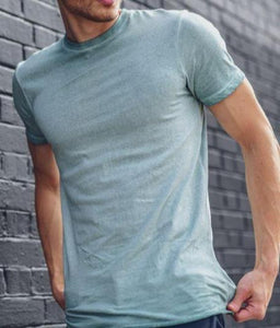 Dusty Blue Basic T