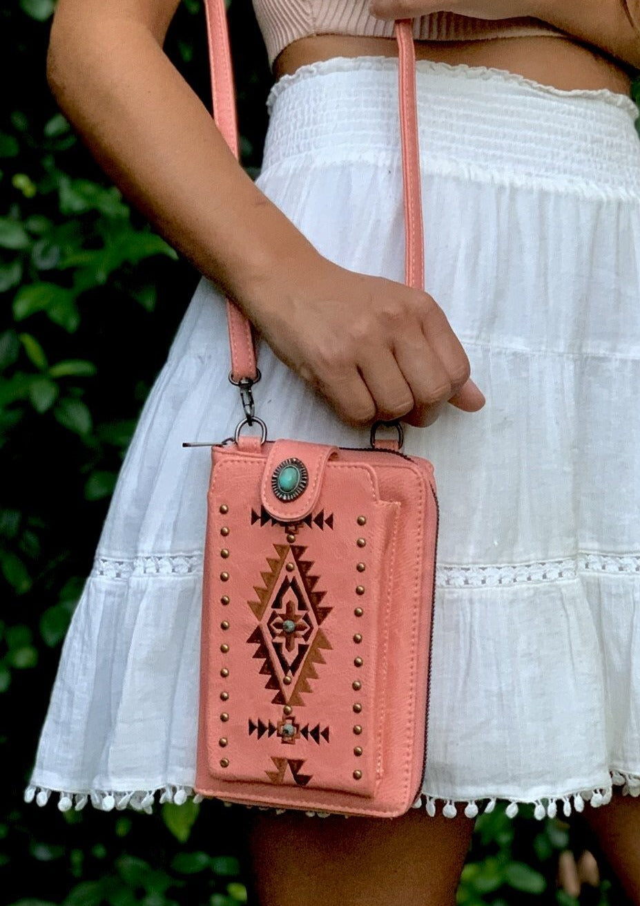 Just Peachy Side Bag