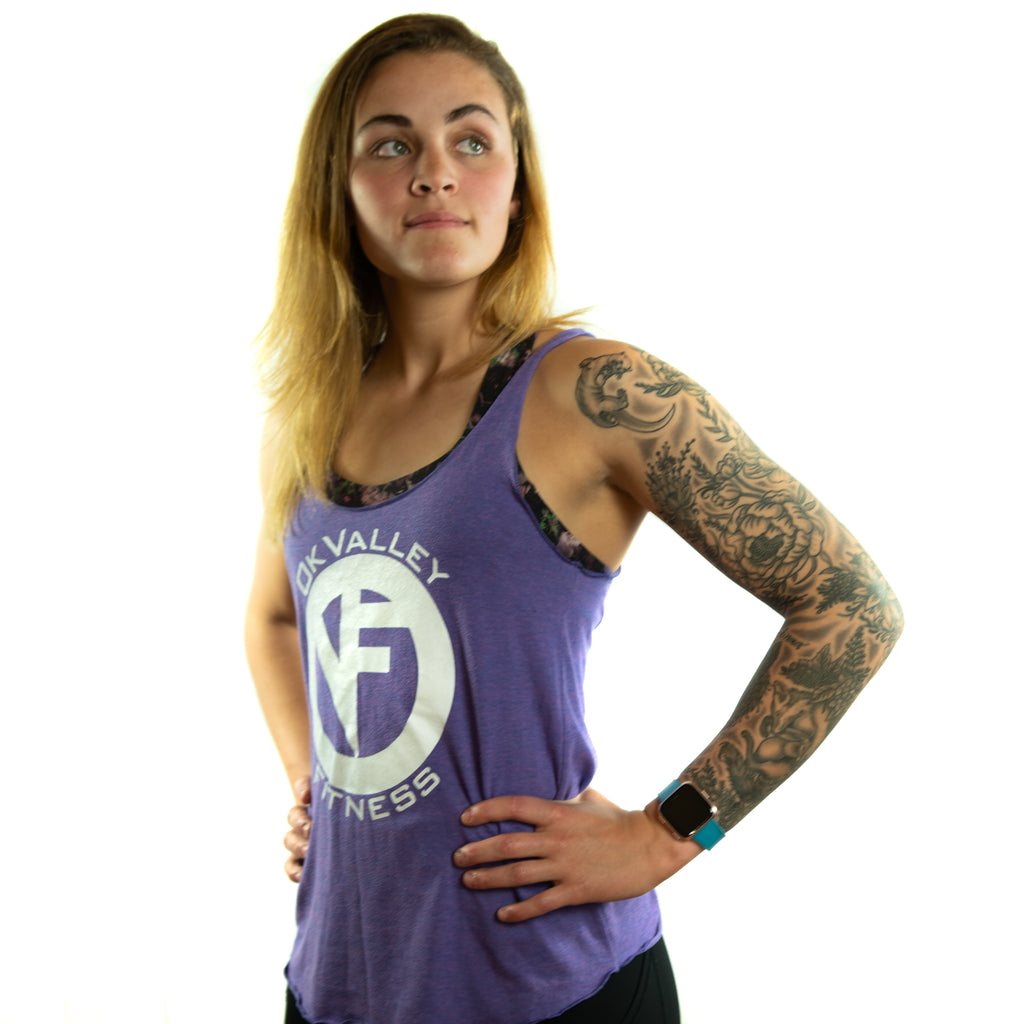 'ICON' Tank | Purple