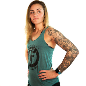 'ICON' Tank | Forest Green