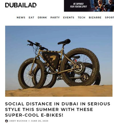 EBIKES UAE FEATURED IN DUBAILAD.COM