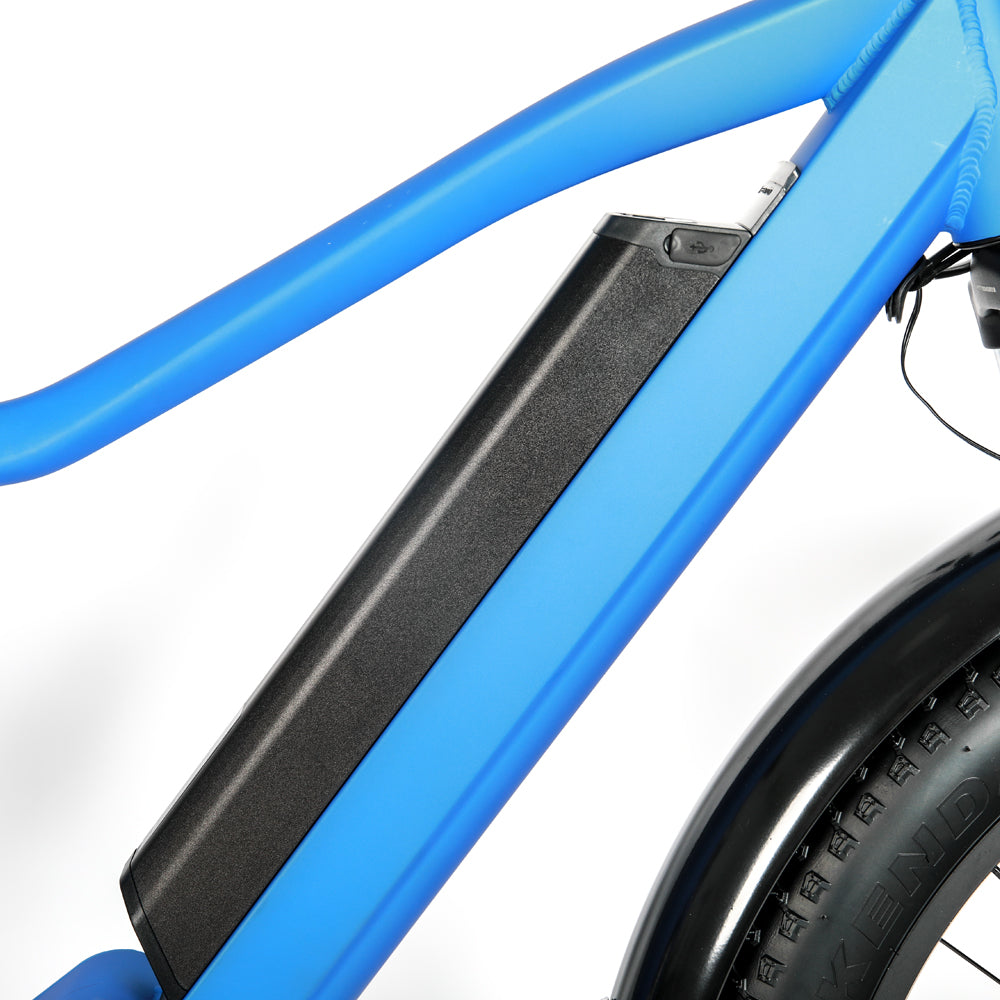 Blue All Terrain Ebike 1000w Mid Drive