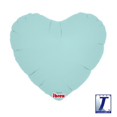 Hearts 14inch Pastel Blue