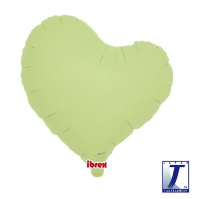 Sweet Heart 14inch Pastel Green