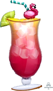 Flamingle Tropical Drink Shape 71cm