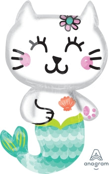 Mermaid Cat Super Shape 45cmx78cm