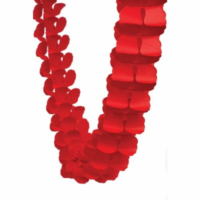 Honey Comb Garland Red