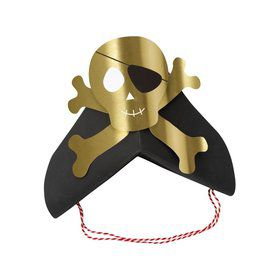 Pirate Party Hats 8 Pack