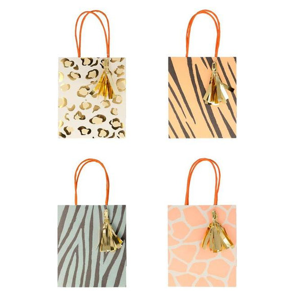 Safari Animal Print Party Bag